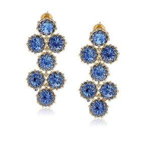 Kate Spade Crystal Dangling Chandelier Earrings